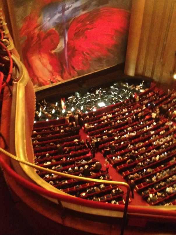 Tosca Curtain Met Opera 3-18-19