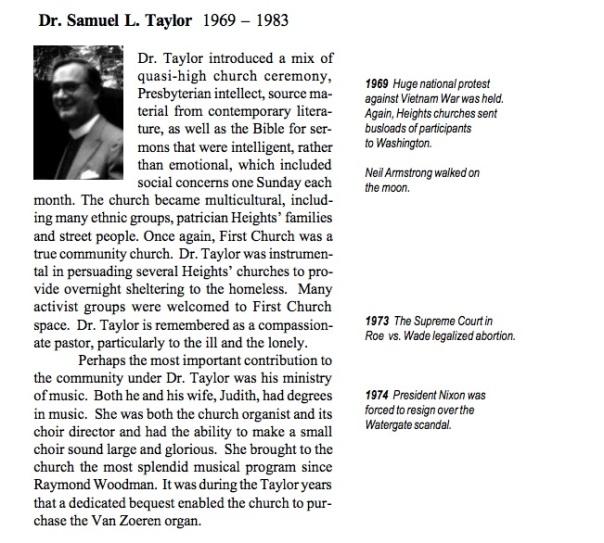 Dr. Samuel Taylor