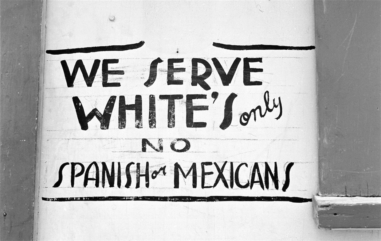 Sign in Dimmitt, Texas 1949